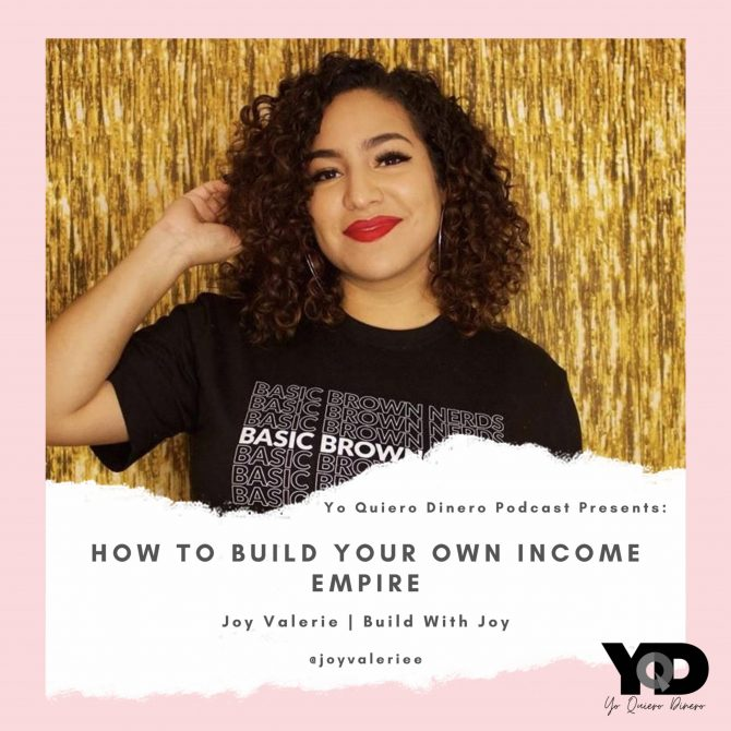 22. How To Build Your Own Income Empire | Joy Valerie Carrera Of Build With Joy