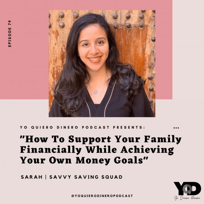 79. How To Support Your Family Financially While Achieving Your Own Money Goals   Savvy Savings Squad